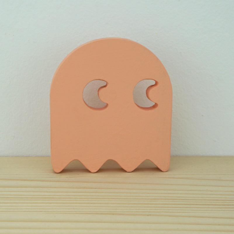 Fantasma Comecocos rosa