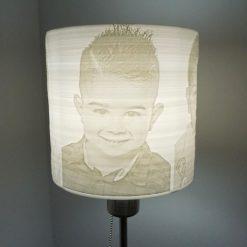 Lámpara 3D litofanía personalizada