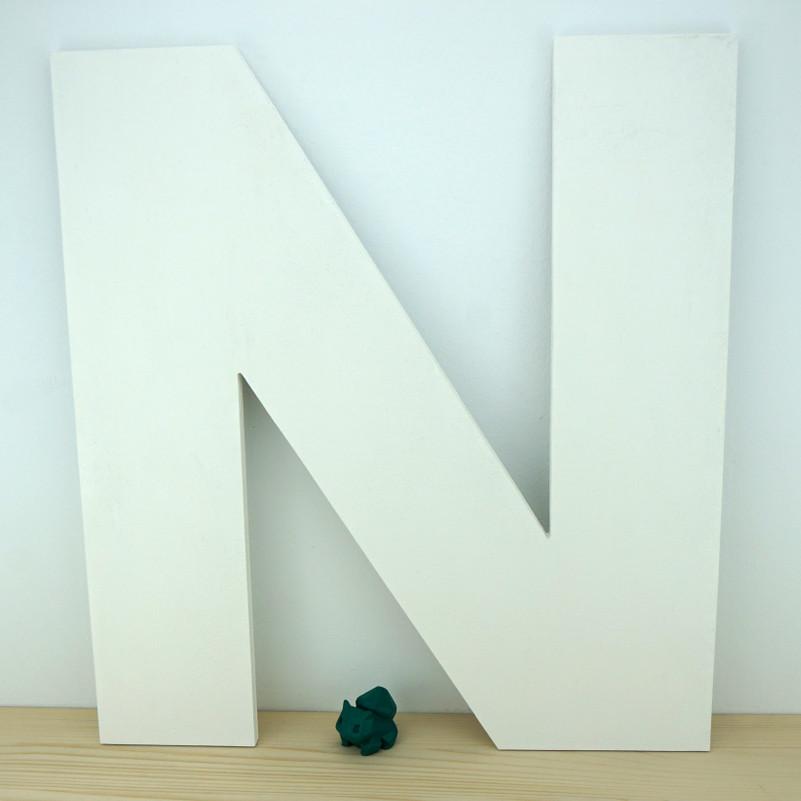 Letra N grande
