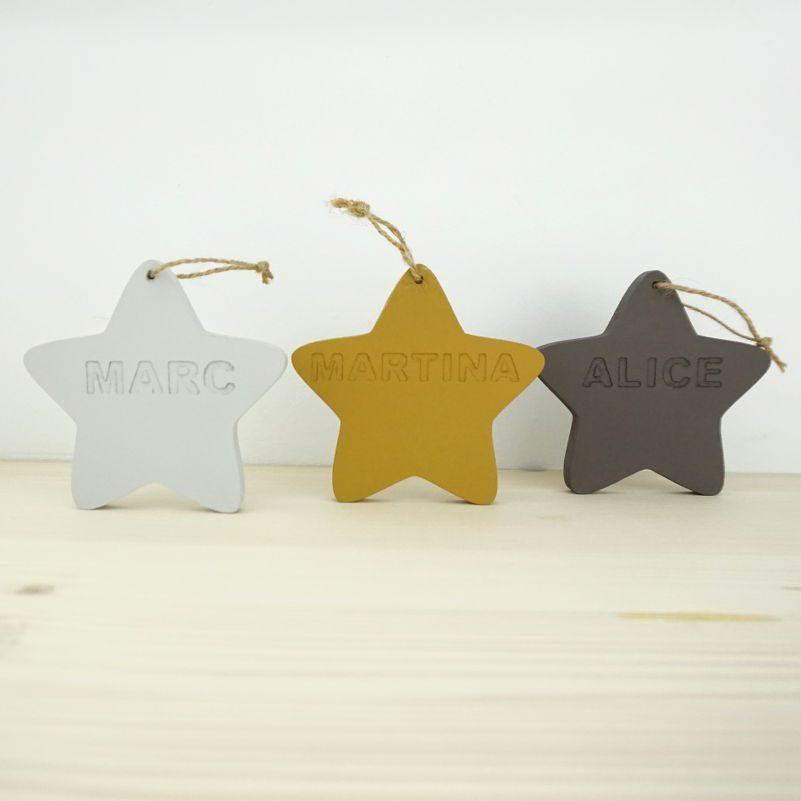 Estrella con nombre