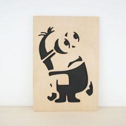 Cuadro madera Minion